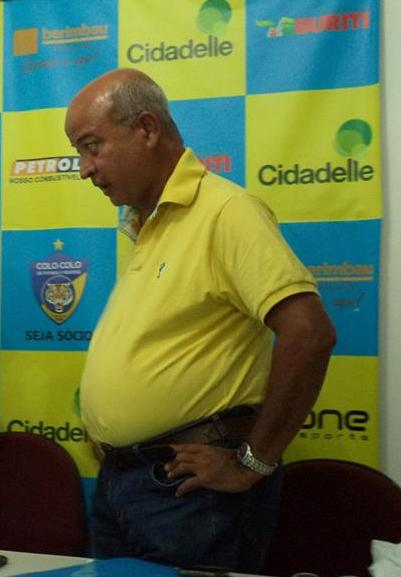 Raimundo Borges, presidente do Colo-Colo.