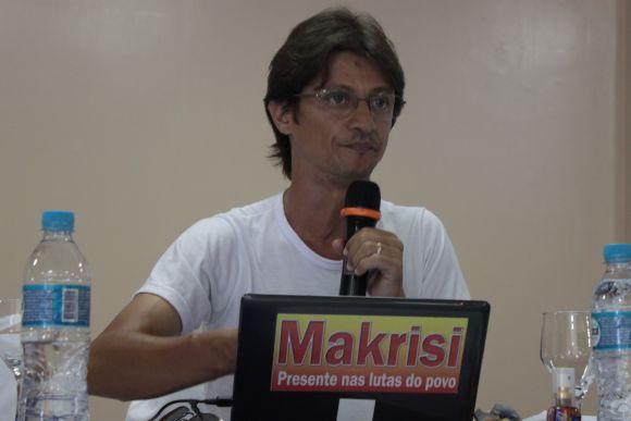Makrise Angeli. Imagem de arquivo do SINPOJUD.