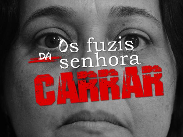 """""""Os fuzis da senhora Carrar"""" é o novo espetáculo do TPI."""