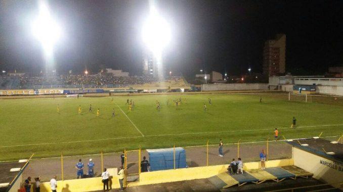 Visitantes golearam o Tigre por cinco a zero. Imagem: ASCOM/Jequié.