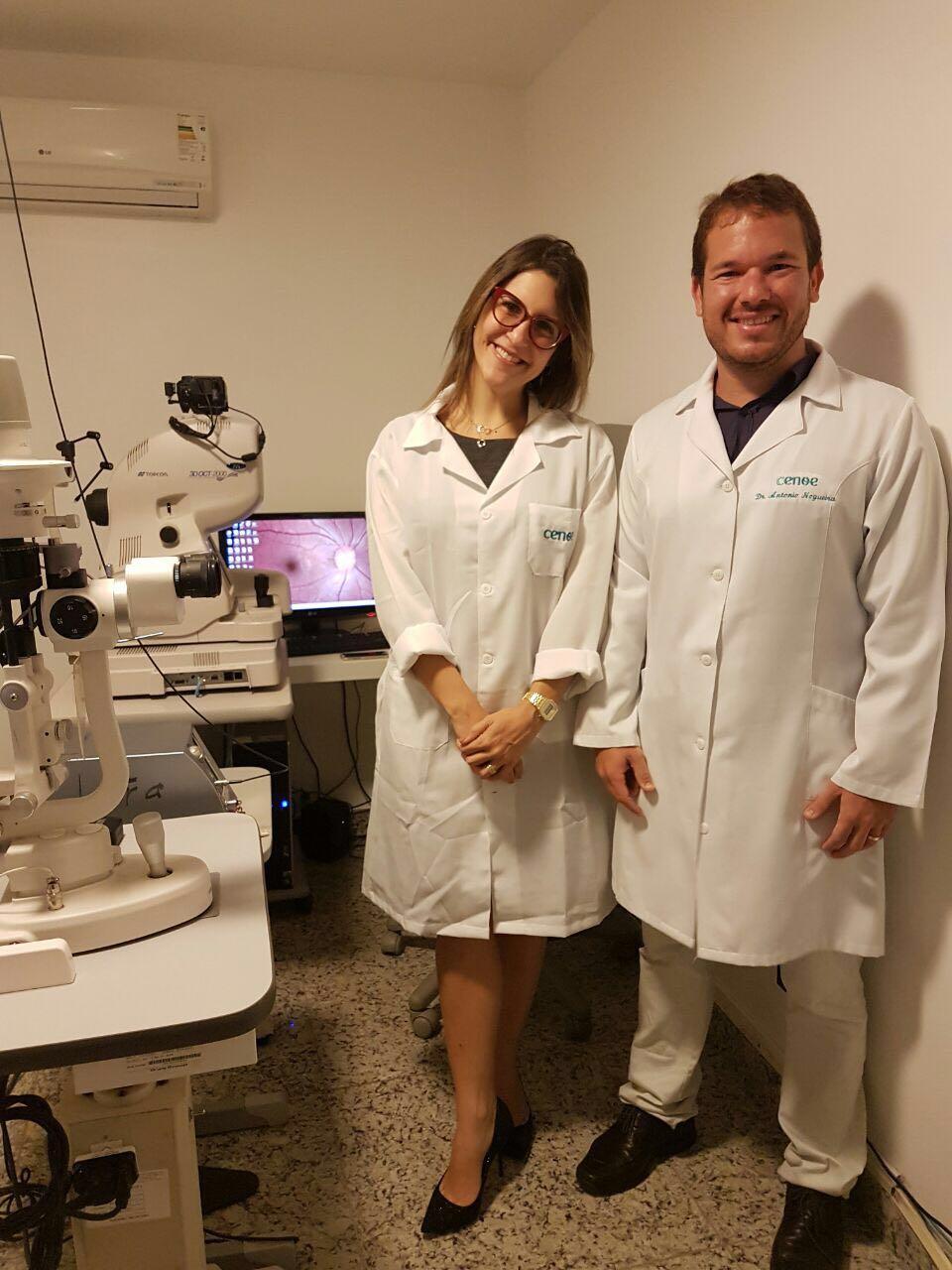 A médica oftalmologista Juliana Ávila veio trabalhar em Ilhéus a convite do colega Antônio Nogueira, do CENOE.