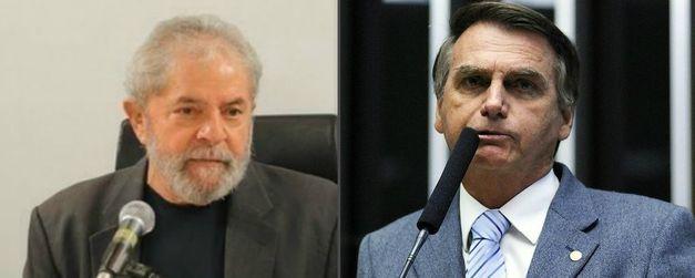 Datafolha mostrou o ex-presidente Lula e o deputado federal Bolsonaro bem colocados para a disputa presidencial.
