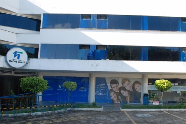 Faculdade Madre Thaís. Fonte: Divulgação.