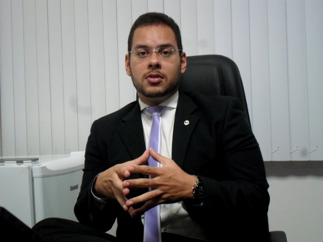 Advogado Ivan Ferraz. Imagens: Thiago Dias/Blog do Gusmão.
