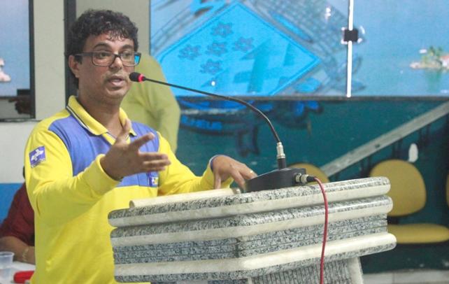 Joseval Cunha. Imagem: Ascom/Câmara de Ilhéus.