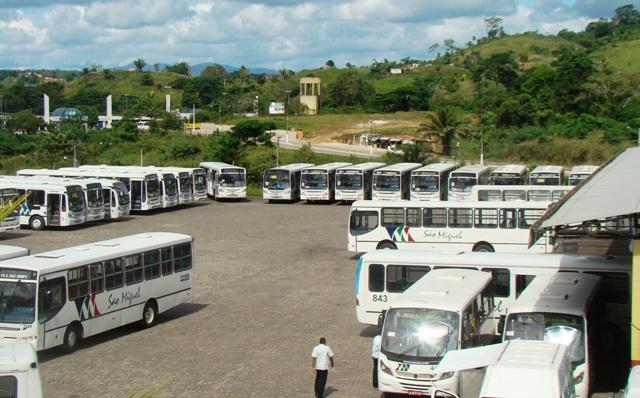 Rodoviários iniciaram greve na manhã desta quinta-feira. Imagem de arquivo/Pimenta.