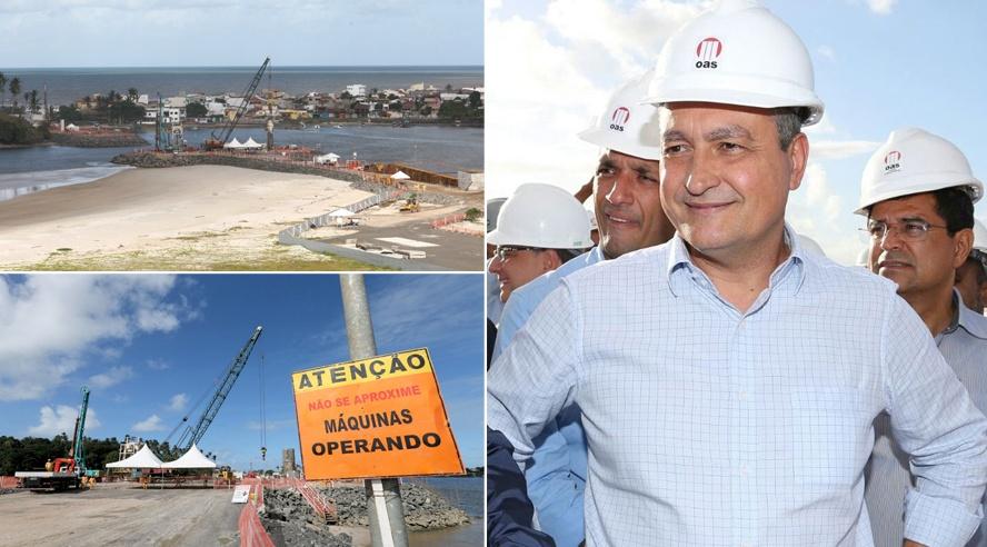 Imagens: Matheus Pereira/GOVBA. Montagem: Blog do Gusmão.