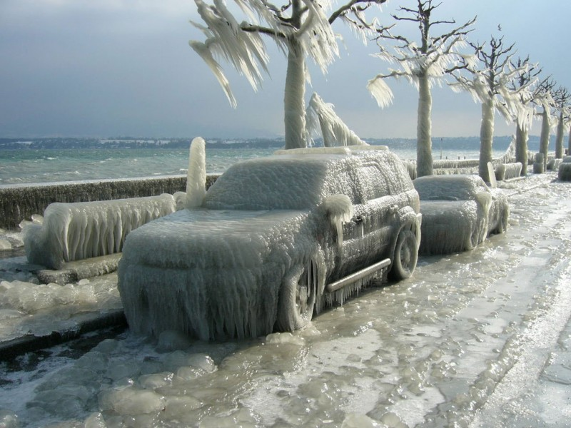 Imagem ilustra como  ilheense sente a cidade quando o termômetro marca 18 graus.