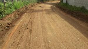 Estrada de Maria Jape já está sendo recuperada - Secom 5,