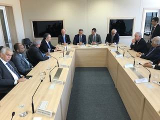 Bebeto participa da Assinatura da Delegação do Aeroporto de Ilhéus e viabiliza avanços para a região. Imagem: Asom Dep. Federal Bebeto