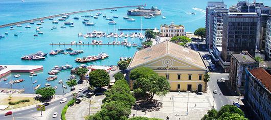 Salvador. Imagem: Rede Bahia