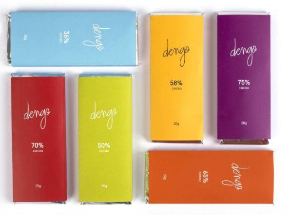 Dengo, marca de chocolates criada por Guilherme Leal.