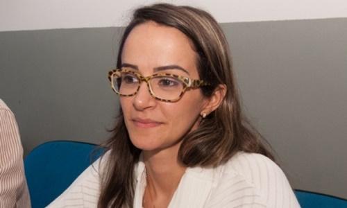 Secretária de Saúde Lísias Miranda. Imagem: Ubaitaba Urgente.