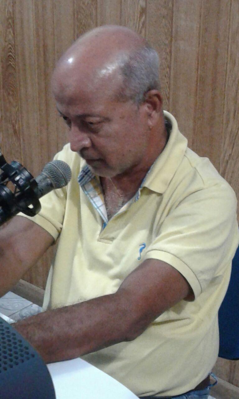 Raimundo Borges. Imagem: O Sarrafo.
