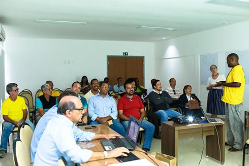 Reunião para debater Semana da Mobilidade. Imagem: Clodoaldo Ribeiro.