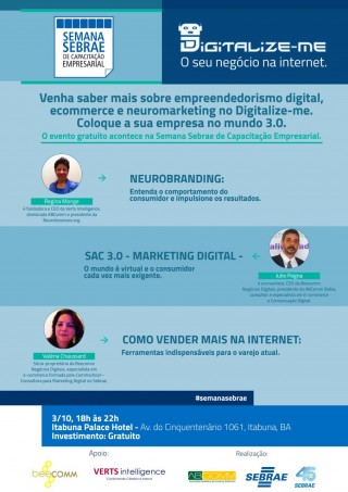 Evento da Semana da Sebrae. Imagem: Dilvulgação/Sebrae.