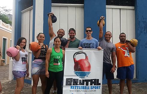 Novo Centro de Treinamento de kettlebell em Canavieiras. Imagem: Divulgação.