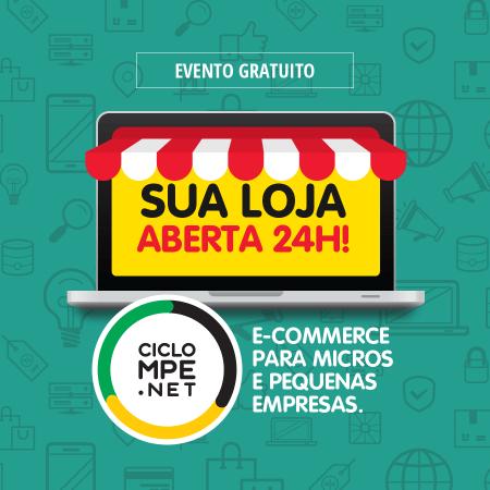 Evento para o comércio digital. Imagem: Divulgação.