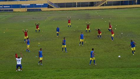 Colo-Colo realiza peneira. Imagem: Pablo Brandão.