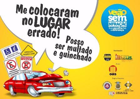 Sutran realiza operação educacional. Imagem: Divulgação.