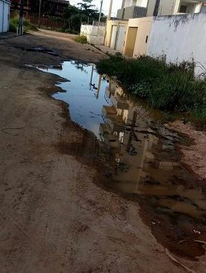 Moradores reclama de condições do Loteamento Praia Dourada. Imagem: Leitor/Agravo.