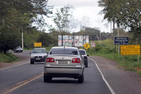 Duplicação da Rodovia Jorge Amado. Imagem: Blog Eduardo Salles.