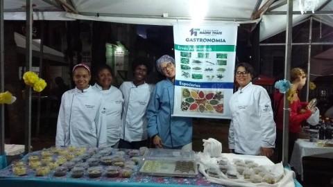 Primeira turma de gastronomia da FMT. Imagem: Divulgação.