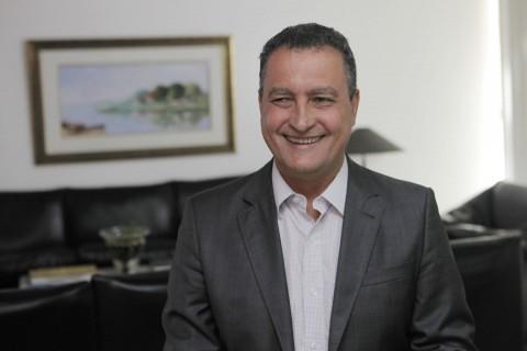 Governador Rui Costa fez anúncio nessa segunda. Imagem: Mateus Pereira/GOVBA.