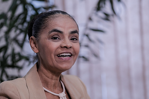 Marina Silva. Imagem: Kleyton Amorim/UOL.