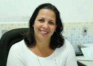 Secretária de Saúde Elizângela Oliveira. Imagem: Clodoaldo Ribeiro/Secom-Ilhéus.