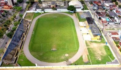 Estádio Mario Pessoa. Imagem: José Nazal.