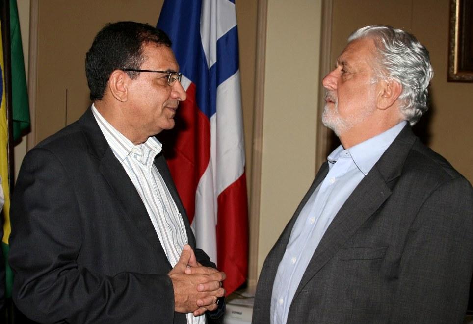Jabes Ribeiro e Jaques Wagner.