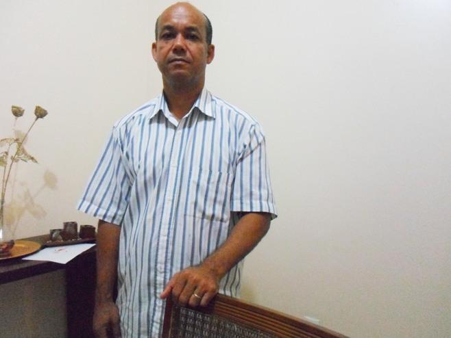 Abiel da Silva Santos. Imagem: Thiago Dias/Blog do Gusmão.