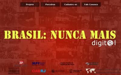 Abre 2 - site brasil nunca mais_Reprodução