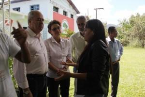 Lançamento do Curso no Assentamento Terra Vista. Imagem: Laíse Galvão.