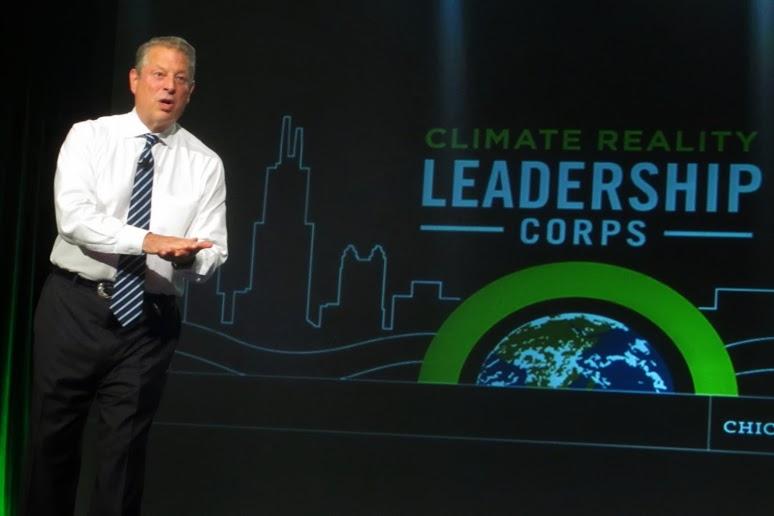 Ex-Vice-Presidente dos EUA, Al Gore. Imagem: Karen Dike/Sierra Club.