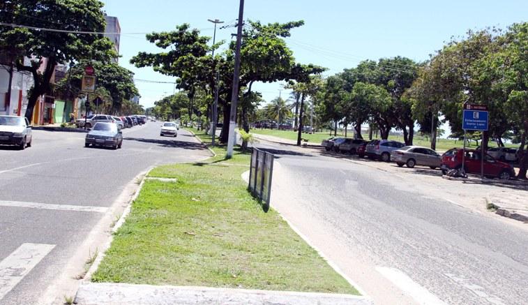 Avenida Soares Lopes; foto de Gidelzo Silva/Secom.