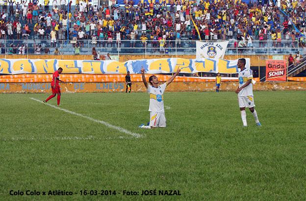 Mesmo com salários atrasados,  o Colo-Colo divide a liderança da Série B do Campeonato Baiano.