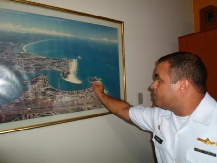 O Comandante Sanches atuou presencialmente nas buscas. Foto: Thiago Dias / Blog do Gusmão.