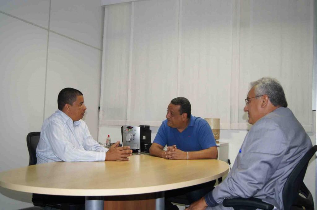 Fabio Magal, Agnaldo Garces E Roque Soares.