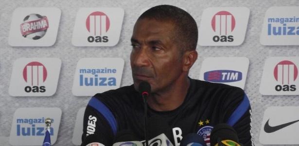 Cristóvão Borges, técnico do Bahia.