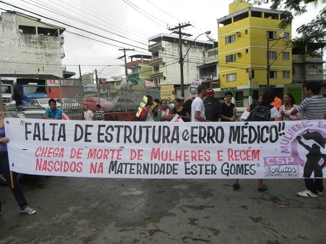 Movimentos sociais presentes no desfile de 07 de setembro. Imagens: Gabriela Caldas/Blog do Gusmão.