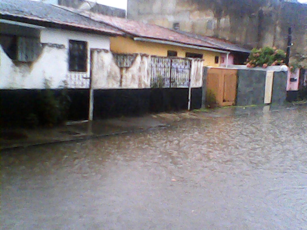 Imagem do Caminho 8, no bairro Hernani Sá (zonal sul de Ilhéus). Fotos: Geraldo Fraga.