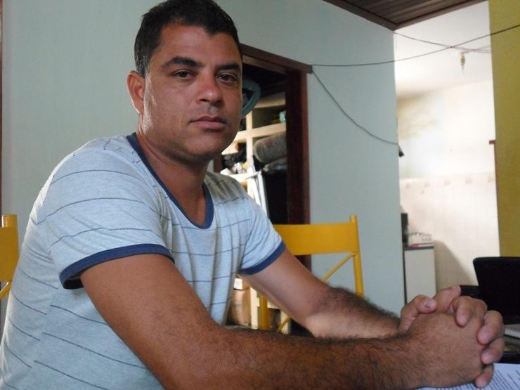 Daniel Sena é a favor do porte de arma para os guardas municipais. Foto: Blog do Gusmão/Thiago Dias.