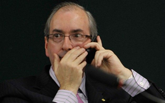 """O deputado Eduardo Cunha  é apontado como o """"inimigo"""" número 1 da liberdade na internet. Supostamente, ele representa o interesse das empresas de telecomunicações."""