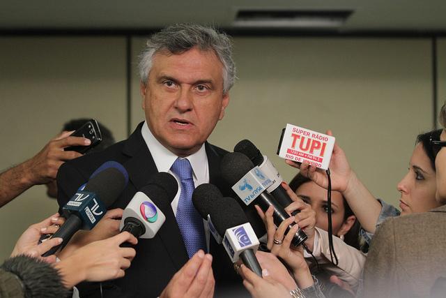 Senador Ronaldo Caiado (DEM-GO), autor do projeto.
