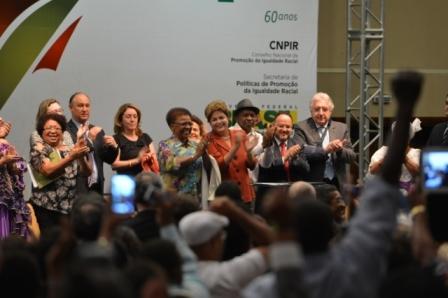 A medida foi assinada pela presidente Dilma Rousseff na abertura da 3º Conferência Nacional de Promoção da Igualdade Racial.