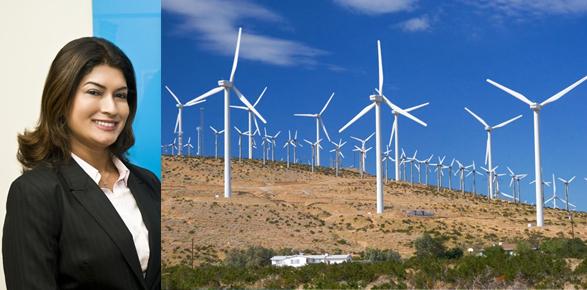 Elbia Melo fala sobre potencial eólico do sertão  brasileiro, um trunfo contra a pobreza.