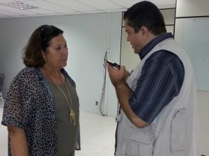 Eliana Calmon durante entrevista ao BG.