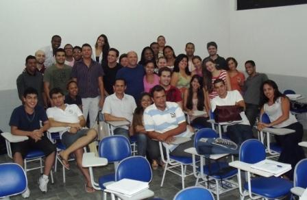 Estudantes de Direito da Faculdade de Ilhéus.